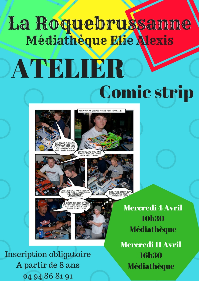 Atelier Comic strip