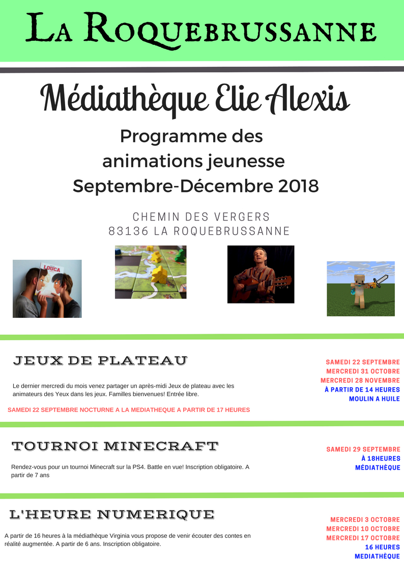 Programme animations jeunesse sept 18 1